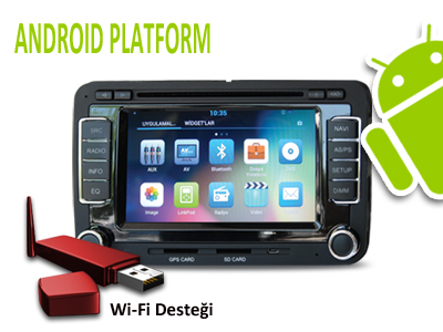 Seat Altea/ Toledo/ Leon III Android DVD ve Multimedya Sistemi