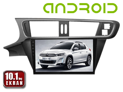 Citroen C3 XC 10.1 İnç ANDROID Menü DVD ve Multimedya Sistemi