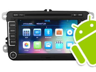Skoda Rapid/ SuperB/ Romstar/ Fabia Android DVD ve Multimedya Sistemi