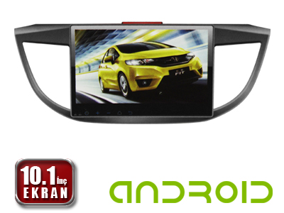 Honda CR-V 2012/2015 10.1 İnç Android'li DVD ve Multimedya Sistemi