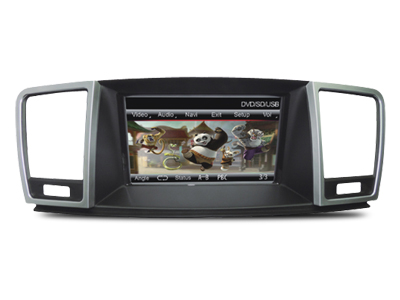 Mercedes M Class 7 İnç DVD ve Multimedya Sistemi