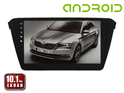 Skoda Superb 2015 10.1 İnç Android'li DVD ve Multimedya Sistemi