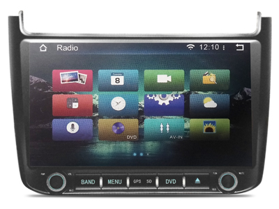 Volkswagen Polo 2015 10.1 İnç Android'li DVD ve Multimedya Sistemi